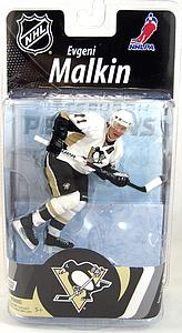 NHL Sportspicks Series 27 Evgeni Malkin (Pittsburgh Penguins) White Jersey Variant