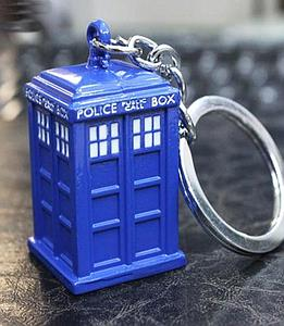 Doctor Who Keychain Tardis (Large)