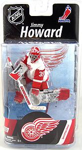 NHL Sportspicks Series 27 Jimmy Howard (Detroit Red Wings) White Jersey Collector Level Bronze