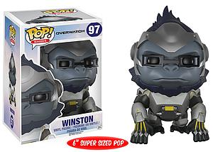 Pop! Games Overwatch Vinyl Figure Winston #97