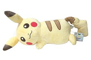 "Pokemon Plush Pikachu Lying Down (12"")"