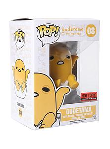 Pop! Sanrio Gudetama Vinyl Figure Gudetama Shell #08 Hot Topic Exclusive Pre-Release