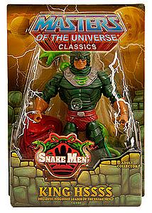 He-Man and the Masters of the Universe Classics 6 Inch: King Hssss