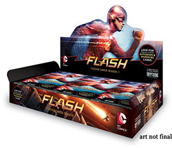The Flash Television Series Trading Cards Season 1 Booster Box