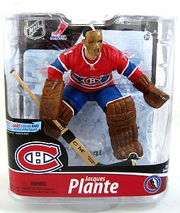 NHL Sportspicks Series 28 Jacques Plante (Montreal Canadiens) Red Jersey EXCLUSIVE