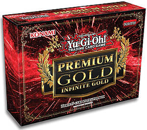 YuGiOh Trading Card Game Premium Gold 3: Infinite Gold Mini Box