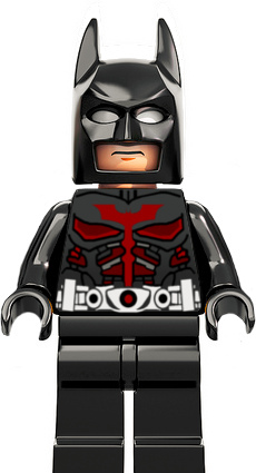 DC Comics SuperHeroes Minifigure: Batman (Dark Knight Beyond)