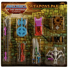 He-Man and the Masters of the Universe Classics 6 Inch: Weapons Pack