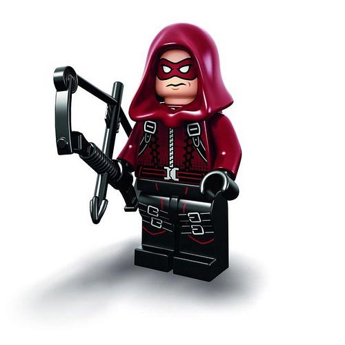 DC Comics SuperHeroes Minifigure: Arsenal (Red Arrow)
