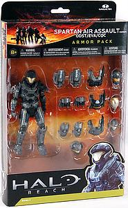 "Halo Reach 6"" Series 4 Armor Pack: Spartan Air Assault ODST/EVA/CQC"