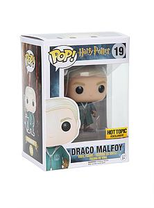 Pop! Harry Potter Vinyl Figure Draco Malfoy (Quidditch) #19 Hot Topic Exclusive