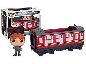 Pop! Rides Movies Harry Potter Vinyl Figure Hogwarts Express Carriage with Ron Weasly #21