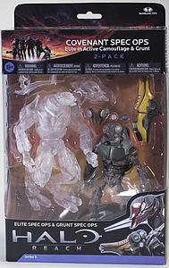 "Halo Reach 6"" Series 5 Two-Pack: Covenant Spec Ops (Elite in Active Camouflage & Grunt)"