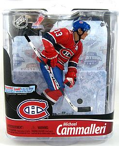 NHL Sportspicks Series 28 Mike Cammalleri (Montreal Canadiens) Red Jersey Exclusive