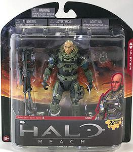 "Halo Reach 6"" Series 6: Jun (unhelmeted)"