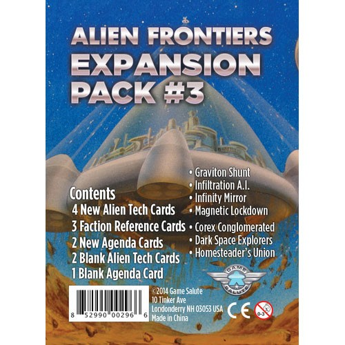 Alien Frontiers: Expansion Pack #3