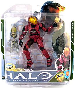 Halo 3 Series 5: Crimson Spartan Soldier EVA