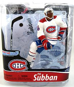 NHL Sportspicks Series 28 P.K. Subban (Montreal Canadiens) White Jersey Collector Level Bronze (Only 3000 Made)
