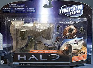 Halo Micro Ops 15mm Scale Series 1: High Ground Bunker with Shade turret