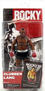 "Rocky 6"" Series 3: Clubber Lang Black Trunks"