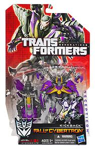 Transformers Generations Fall of Cybertron Deluxe Class: Kickback