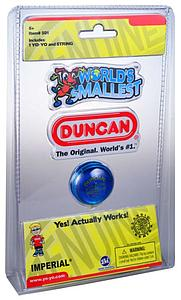 World's Smallest Duncan Yo-Yo: Assorted colors