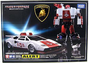 Transformers Masterpiece Series: Red Alert MP-14