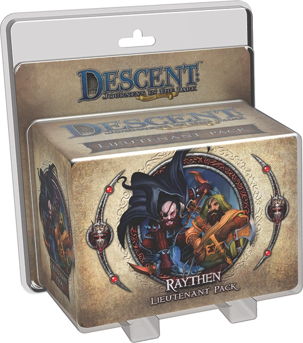 Descent: Journeys in the Dark - Raythen Lieutenant Pack