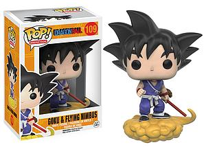Pop! Animation Dragon Ball Vinyl Figure Goku & Flying Nimbus #109