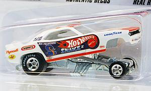 Hot Wheels Dragstrip Demons Cars Die-Cast: Don Prudhomme's Snake II Plymouth 'Cuda