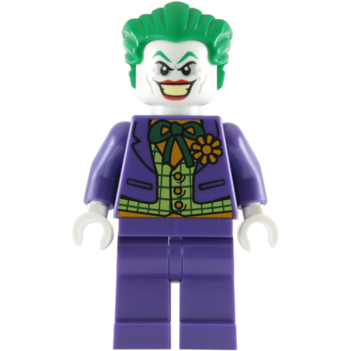 DC Comics SuperHeroes Minifigure: The Joker (with Saws)