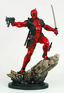 Bowen Marvel Collectible 12 Inch Statue Figure: Deadpool