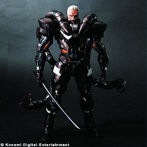 "Metal Gear Solid 2 10"" Play Arts Kai Series - Solidus Snake"