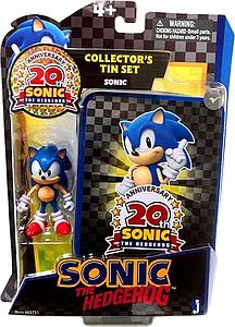 Sonic the Hedgehog 20th Anniversary Collector's Tin with Figure: Classic Sonic