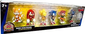 "Sonic the Hedgehog 20th Anniversary 2"" 6 Pack Classic Set"