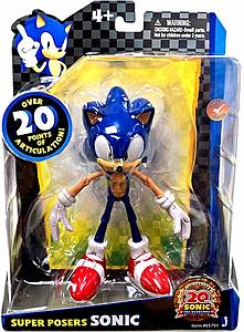 Sonic the Hedgehog 20th Anniversary Super Posers Series: Sonic