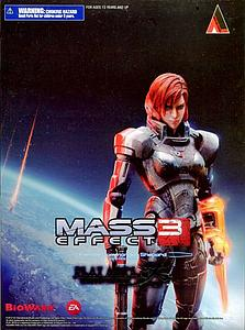 "Play Arts KAI Mass Effect 3 8"": Female Commander Shepard"