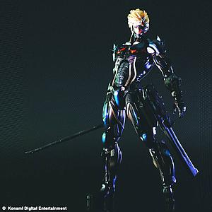 Square Enix Metal Gear Rising Play Arts Kai: Raiden