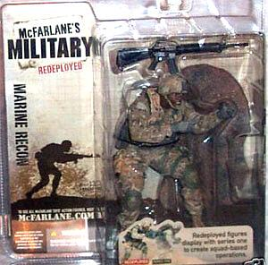 Military Redeployed Series 1: Marine Recon