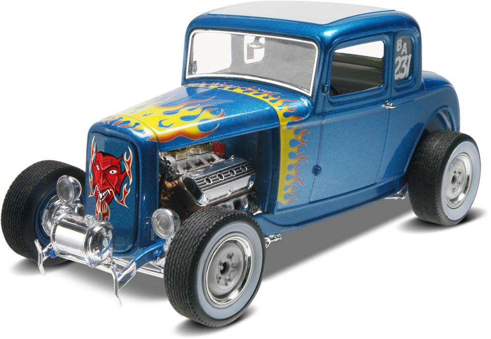 '32 Ford 5 Window Coupe (85-4228)