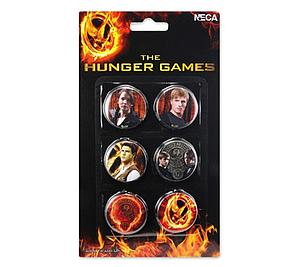 The Hunger Games Accessories: 6 Pin Set