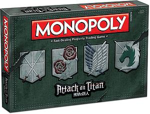 Monopoly Attack on Titan Edition