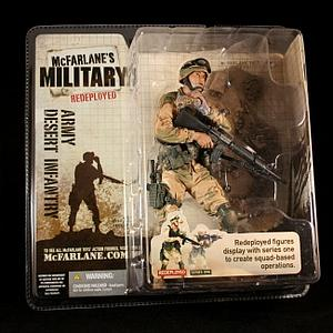 Military Redeployed Series 1: Army Desert Infantry