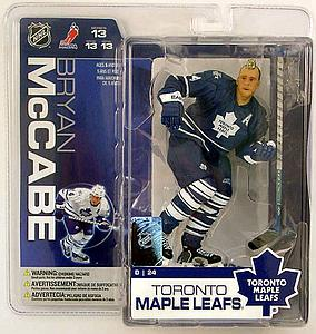 NHL Sportspicks Series 13 Bryan McCabe (Toronto Maple Leafs) Blue Jersey Variant