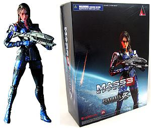 "Mass Effect 3 Play Arts Kai 8"": Ashley Williams"