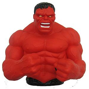 Marvel Hulk Red Bust Bank
