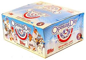 2013 Topps MLB Opening Day Baseball: Hobby Box (36 Packs)
