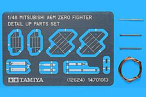 Mitsubishi A6M Zero - Fighter Detail Up Parts Set (12624)