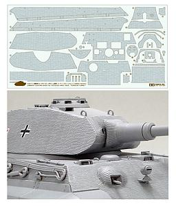 Zimmerit Coating Sheet - King Tiger Porsche Turret (12649)