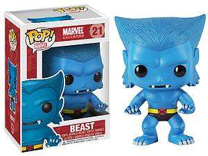 Pop! Marvel Universe Vinyl Bobble-Head Beast #21 (Vaulted)